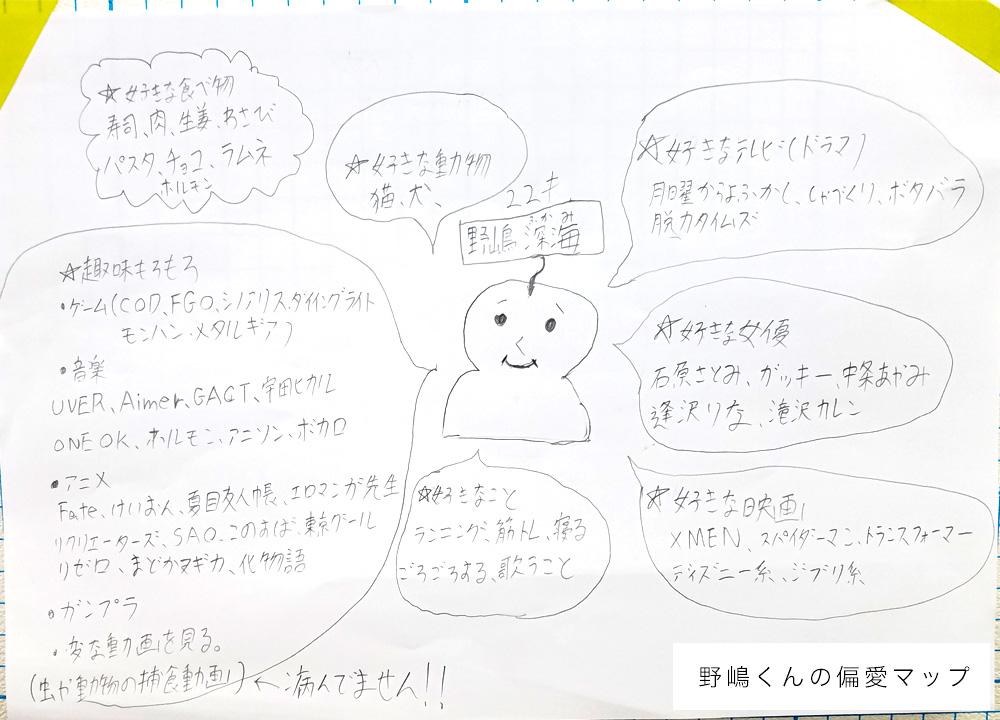 野嶋くんの偏愛マップ